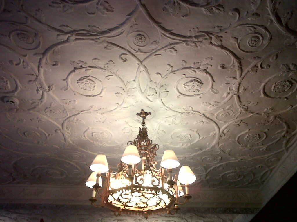 German Artisans Created The Ceilings of The Mill Neck Manor