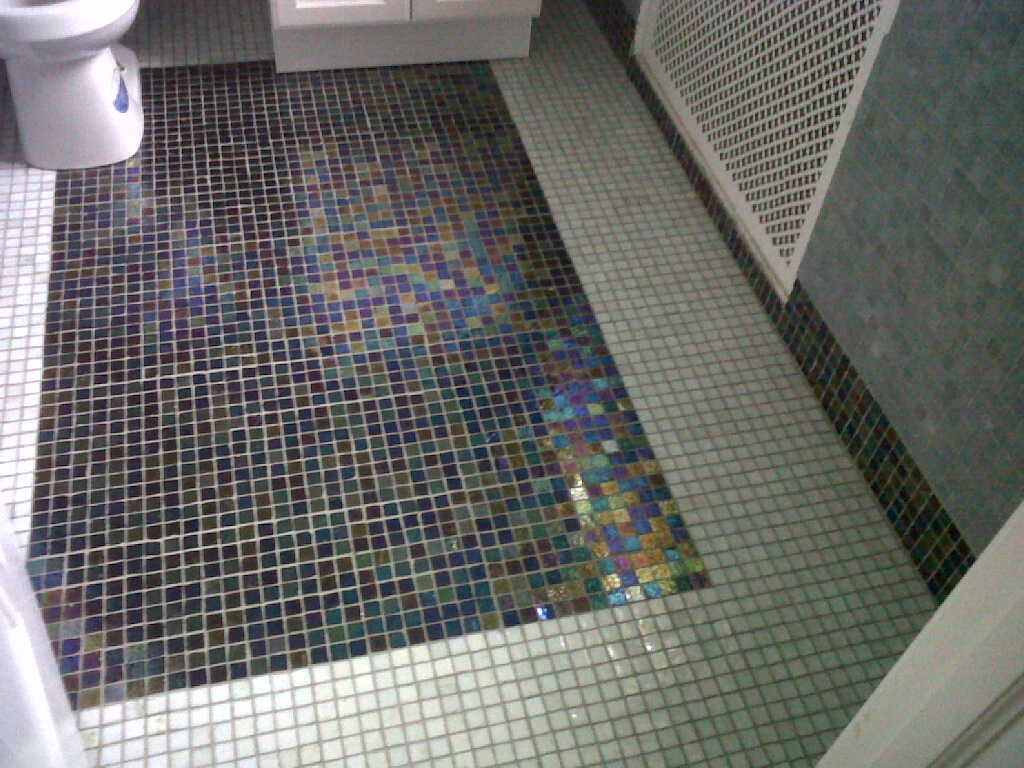 Bathroom Tile Designed - Mill Neck Manor NY