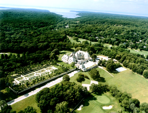 Oheka Castle. Gold Coast Mansion, Huntington, Long Island, New York.