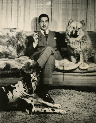 King Zog and his dogs
