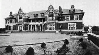 Gold Coast Mansion, Idle Hour, Oakdale, Long Island, New York. Dowling College.